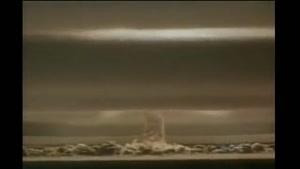 انفجار بزرگترین بمب اتم دنیا