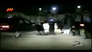 گشت نامحسوس پلیس و دستی کشیدن پژو ۴۰۵