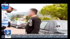 بازداشت راننده مست توسط پلیس ایران
