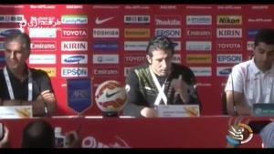 صحبت های اندرانیک تیموریان قبل از بازی با قطر