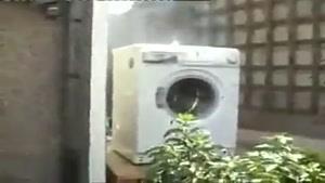 تشنج ماشین لباسشویی