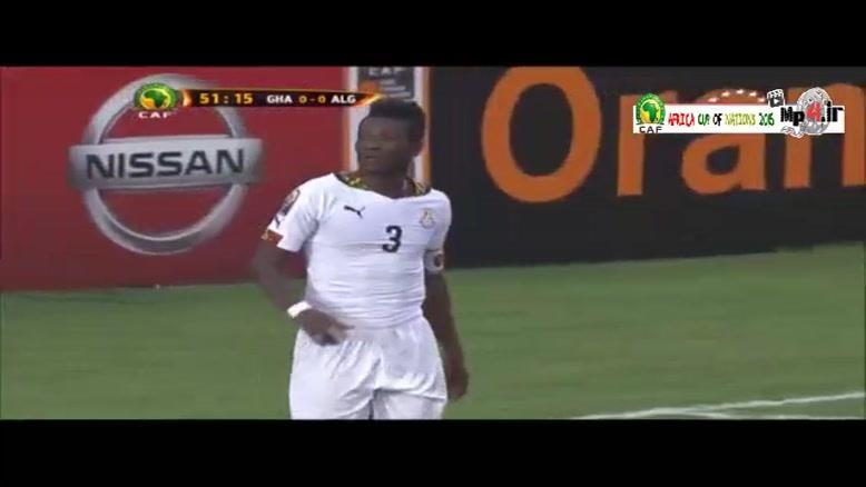 غنا ۱-۰ الجزایر