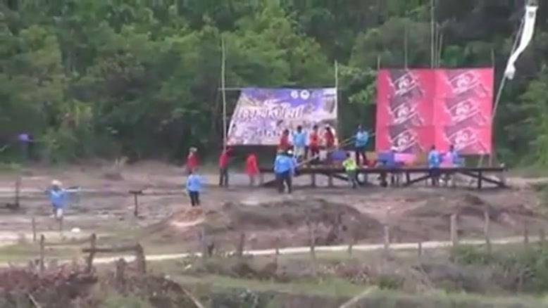 آتش بازی عجیب تایلندی