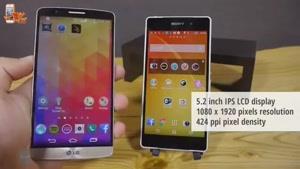 مقایسه گوشی های LG G۳ و Sony Xperia Z۲
