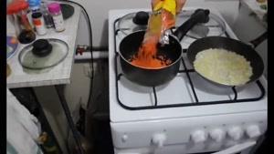 آموزش درست کردن خوراک دال