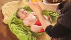 اموزش ماساژ کودک