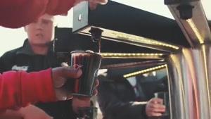 صدای نوشیدن کوکاکولا