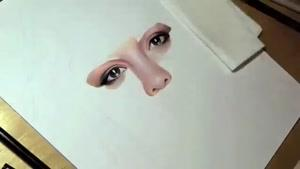 نقاشی بسیار زیبا و حرفه ای