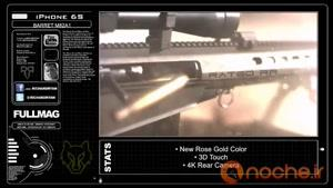 شلیک مرگبار به آیفون ۶S