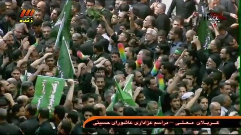 کربلای معلی روز عاشورا محرم ۹۴