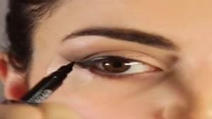 آموزش سریع آرایش چشم