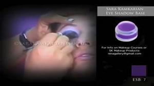 آموزش آرایش چشم عربی
