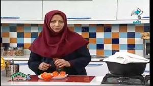 اموزش تزیین هویج