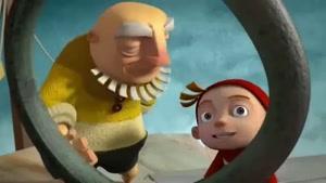 انیمیشن درس ابری
