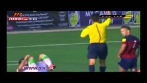 گل چهارم بازی ایران - گوام