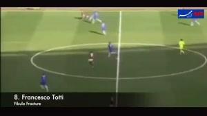فیلم/ بدترین مصدومیت های تاریخ فوتبال