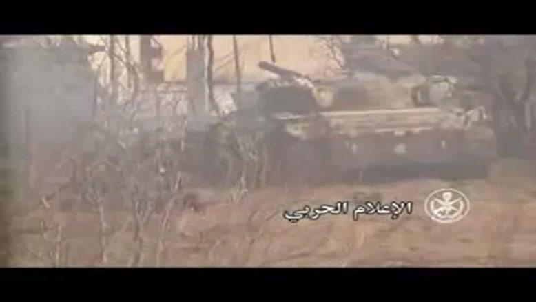فیلم/ارتش سوریه تروریستها را در حومه دمشق به عقب راند