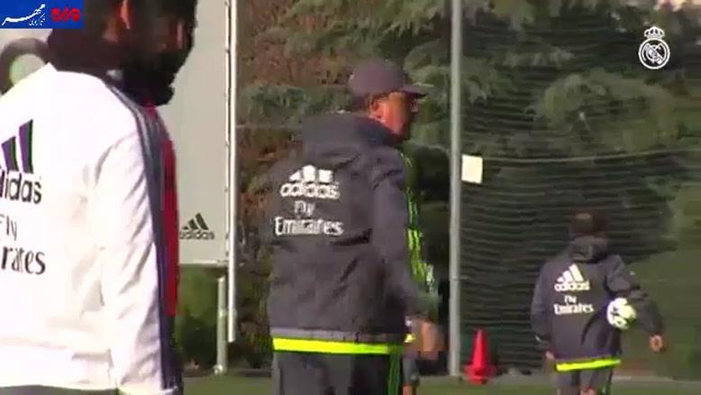 فیلم/ تمرین پرفشار رئال مادرید پیش از بازی با شالکه