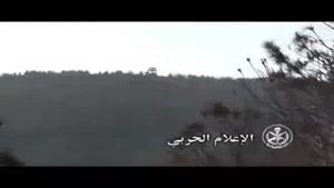 فیلم/پیشروی ارتش سوریه در حومه لاذقیه