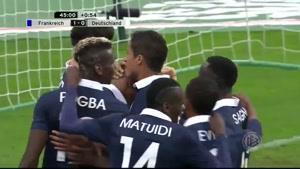 فیلم/ خلاصه دیدار تیمهای فرانسه - آلمان