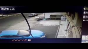وقتی راننده کنترل خودرو را از دست می دهد