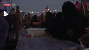 پیاده روی اربعین و حلیم ایرانی
