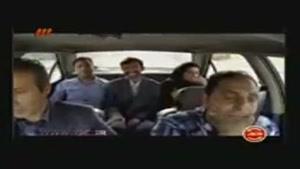 دوربین مخفی راننده خواب آلود در ایران
