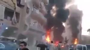 فیلم/ لحظات اولیه پس از انفجارهای بیروت