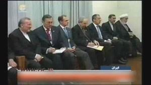 دیدار پوتین با رهبر انقلاب ۸ سال پیش
