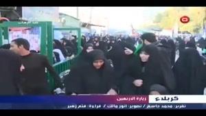 فیلم/خدمت به زائران امام حسین(ع)