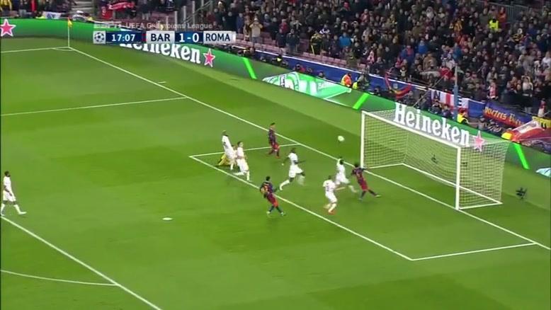 فیلم/ پیروزی پرگل بارسلونا برابر رم