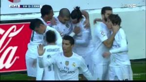 فیلم/ خلاصه دیدار تیم های ایبار - رئال مادرید
