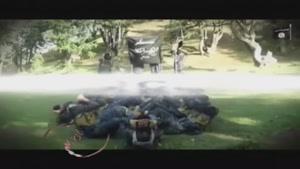 تمرین طاقت فرسا و جفتک چارکش داعشی ها!