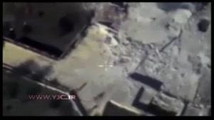 جدیدترین فیلم از حملات هوایی روسیه به داعش
