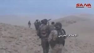 فیلم/ مراکز تروریست ها در  حومه تدمر زیر آتش بالگردهای سوری