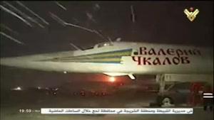 فیلم/ موشک های کروز روسیه در نبرد با تروریست ها در سوریه