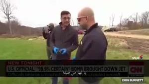 فیلم/ آنچه عامل سقوط هواپیمای روسی در مصر بوده است