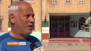 وضعیت غمانگیز پیشکسوت فوتبالی که سرایدار مدرسه است