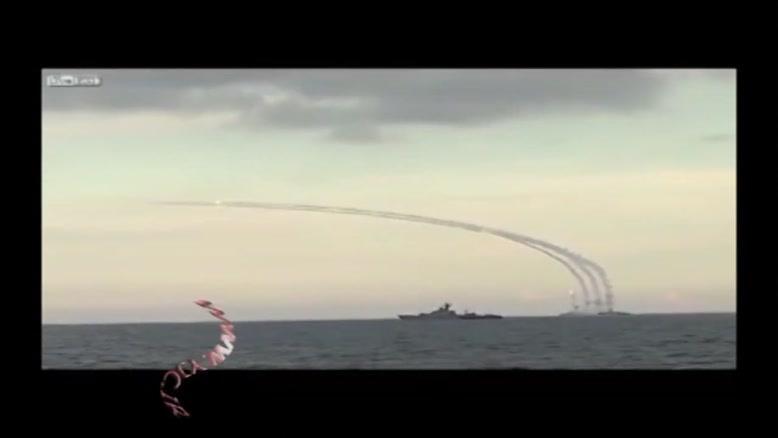 شلیک موشکهای کروز از دریای خزر