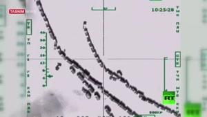 حمله خلبانان روسی به ۵۰۰ نفتکش داعش