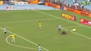 پیروزی آرژانتین مقابل کلمبیا