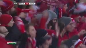 فیلم/ خلاصه دیدار تیم های فوتبال بایرن مونیخ - هرتابرلین
