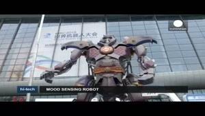 فیلم/ نگاهی به نمایشگاه جهانی روبات در چین