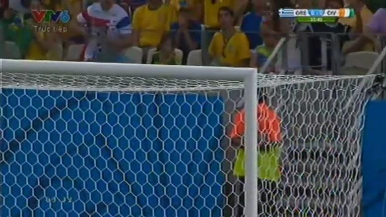 مسابقه فوتبال یونان ۲ - ۱ ساحل عاج
