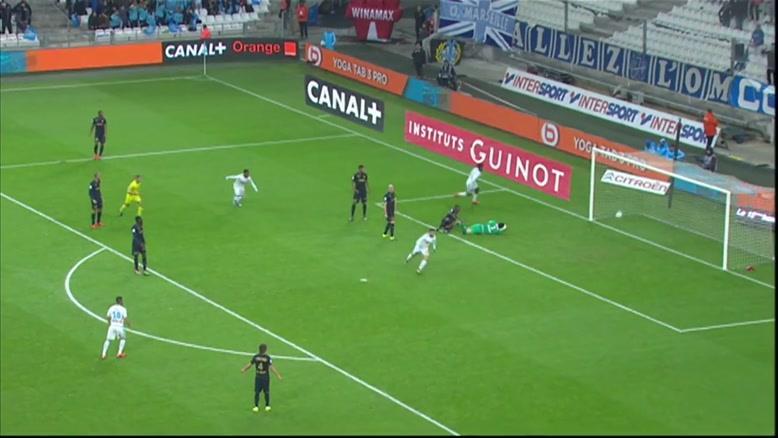 گل های بازی مارسی ۳-۳ موناکو