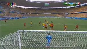 مسابقه فوتبال برزیل ۰ - مکزیک ۰
