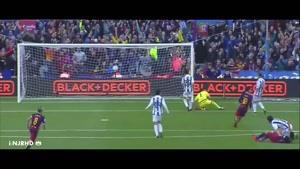 گل های بازی بارسلونا ۴-۰ رئالسوسیداد