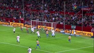 گل بازی سویا ۱-۰ والنسیا