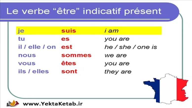 آموزش زبان فرانسه - استفاده از فعل - درس سیزدهم