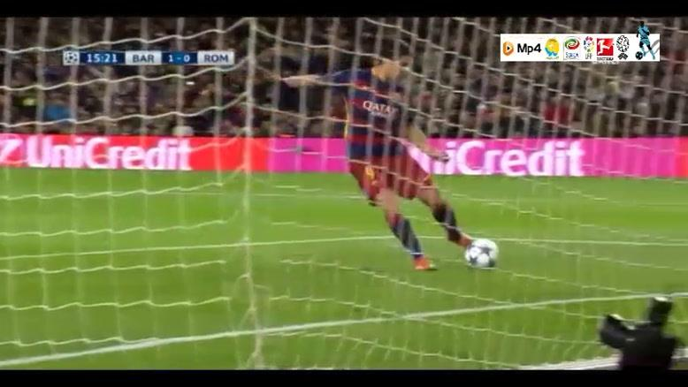 بارسلونا ۶-۱ آاس رم
